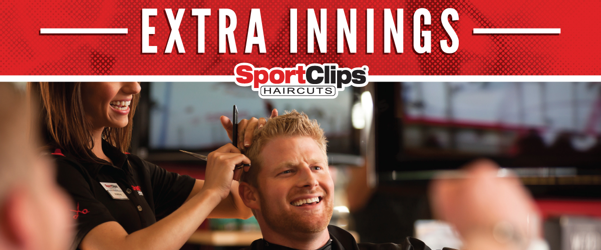 The Sport Clips Haircuts of Ft. Walton Beach  Extra Innings Offerings